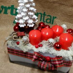 Božićne dekoracije u Agro-kući